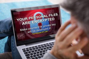 ransomware on computer